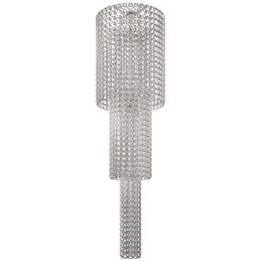 Giogali 10-light Ceiling Flush by Vistosi   PLGIOGACAS1CR