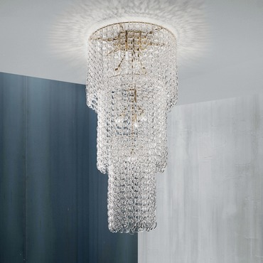 Minigio Ceiling Light by Vistosi | PLGIOMCAS3CR