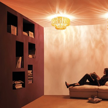 Ecos Ceiling Light by Vistosi | PLECOS60A/ARCR