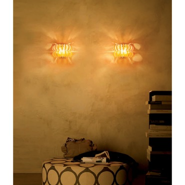 Ecos Wall Sconce by Vistosi | APECOS35ARCR