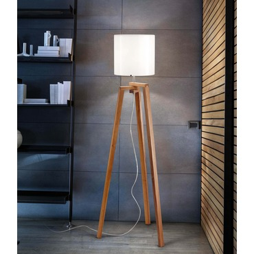 Trepai Floor Lamp by Vistosi | PTTREPAIBCCR