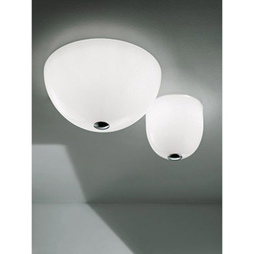 Dress Small Ceiling Flush Mount by Vistosi | PLDRESSPBCCR