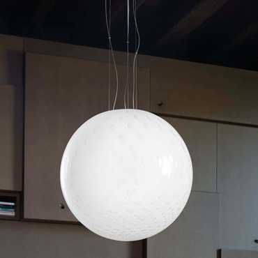 Bolle 18-inch Pendant by Vistosi | SPBOLLE45BC