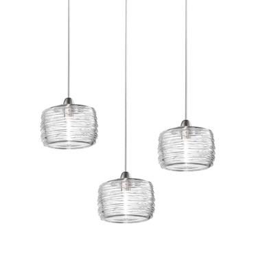 Damasco Medium 3 Light Pendant