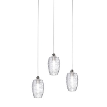 Damasco Small 3 Light Pendant