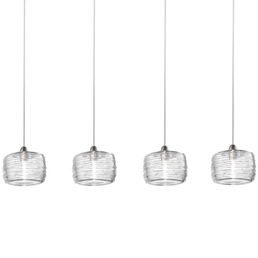 Damasco Medium 4 Light Pendant