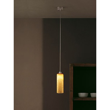 Follia Mini Pendant by Vistosi | SPFOLL1PTOCRNI
