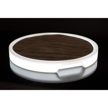 Tron Lighted Tray by Imagilights | IM-TRONROUND