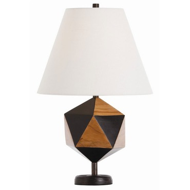 Geo Pentagon Table Lamp