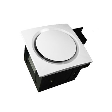 SBF 80 G6 Super Quiet Ventilation Fan by Aero Pure | SBF80G6W