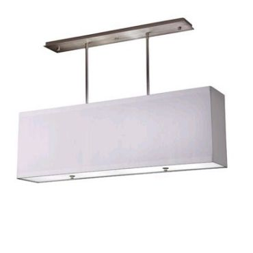 Classique Slender Rectangle Pendant by Stonegate Designs | lp10406-p06-614 wht