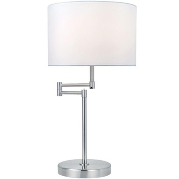 Durango Table Lamp by Lite Source Inc. | LS-22215PS/WHT