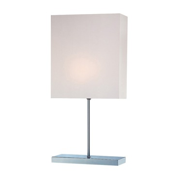Roxey Table Lamp by Lite Source Inc. | LS-21376C/WHT