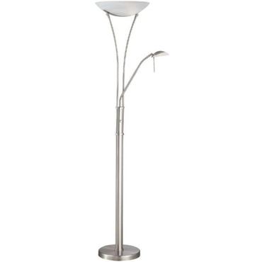 Avington Torchiere Lamp  by Lite Source Inc. | LS-81699PS/FRO