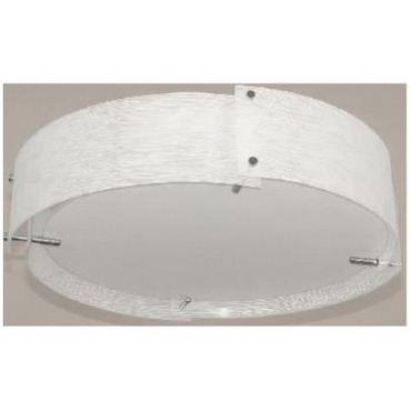 Kaelin Flush Mount by Lite Source Inc. | LS-5420C/FRO