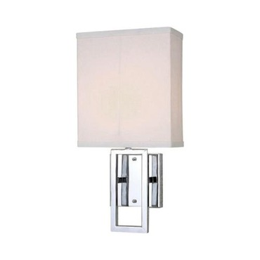Prisca Wall Sconce by Lite Source Inc. | LS-16585C/WHT