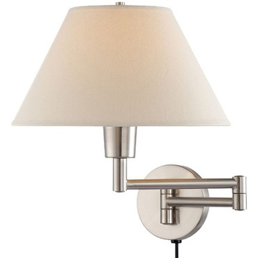 Swinger Wall Lamp by Lite Source Inc. | LS-1171PS
