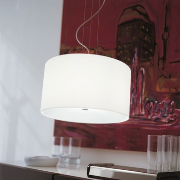 Round Pendant by Morosini - Medialight | 0251SO08BLAL