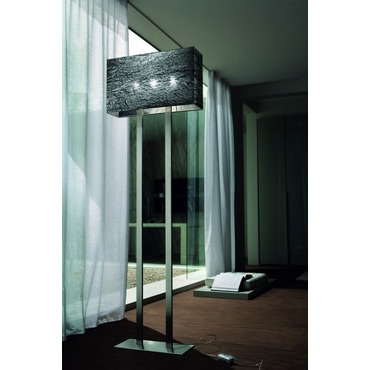Dress R Floor lamp by Morosini - Medialight | 0390TE01SIIN
