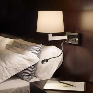 Lexa FL Horizontal Backplate Wall Lamp by Bover | 1020506U+P-633E
