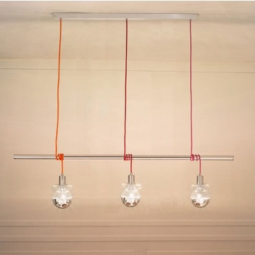 Ideabarra Suspension by Lightology Collection | LC-IDEABARRA-70/S3-MULTI