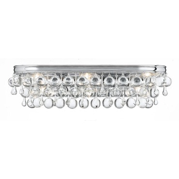 Calypso Bathroom Vanity Light by Crystorama | 133-CH