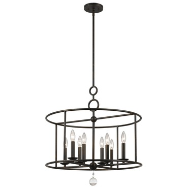 Cameron 8 Light Pendant