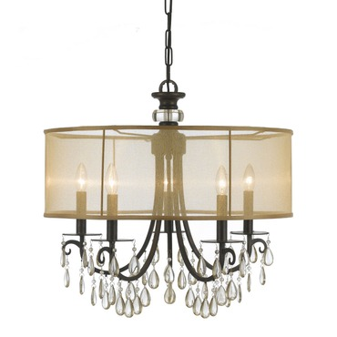 Hampton Chandelier by Crystorama | 5625-EB