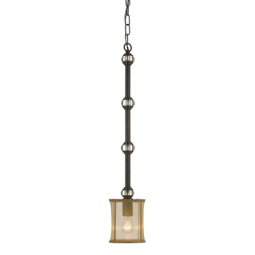 Hampton Mini Pendant by Crystorama | 5620-EB