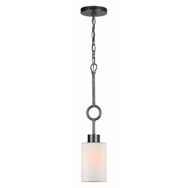 Odette Mini Pendant by Crystorama | 9440-EB-FR