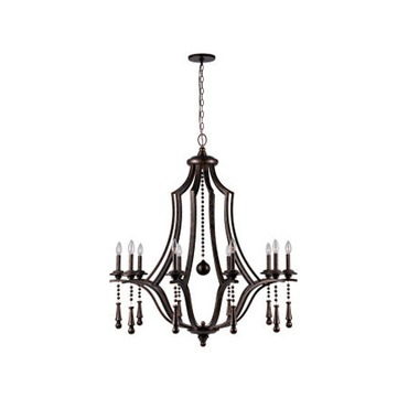 Parson Chandelier by Crystorama | 9359-EB