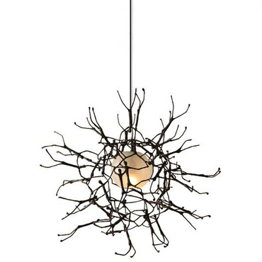 Little People Round Outdoor Hanging Lamp by Hive | LLP-BL-3522OD