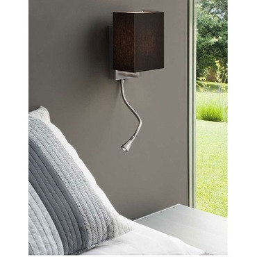 Turin Wall Light by Carpyen | TURIN1-WC-BK-NI