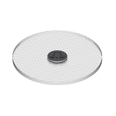 Snap System 2 Inch 36Deg Flat Top Accessory by Soraa | AC-FR-3636-00-S1