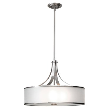 Casual Luxury Large Pendant by Feiss | F2343/4BS