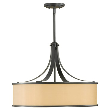 Casual Luxury Large Pendant by Feiss | F2343/4DBZ
