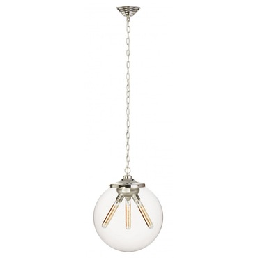 Kilo Retro 3 Chain Pendant Filament Tube Lamp by Stone Lighting | CH522CRPNRT4A