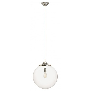 Kilo Retro 1 Cord Pendant Filament Lamp by Stone Lighting | CH521CRPNRDRT6B