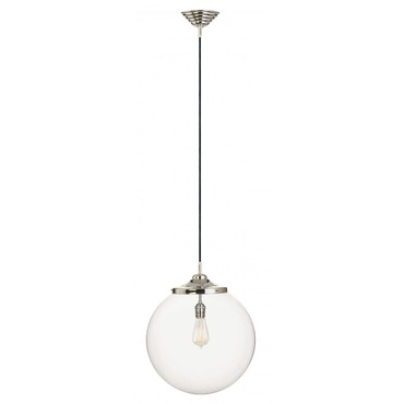 Kilo 1 Light Retro Pendant with Cord