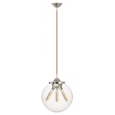 Kilo Retro 3 Cord Pendant Filament Tube Lamp