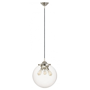Kilo 3 Light Retro Pendant with Cord