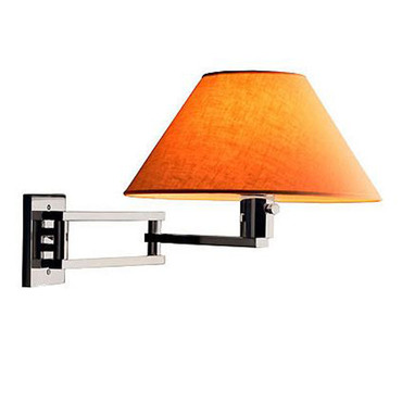 Master 3-Way Swing Arm Lamp by WPT Design | Master-CR