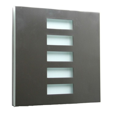 Basic Paired Jalousie Wall Sconce by WPT Design | BasicPared-BS-JA