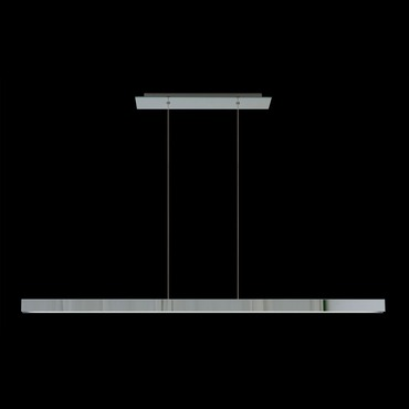 Glide Glass Linear Suspension by Edge Lighting | GL-D1-C-60IN-30K-GMI