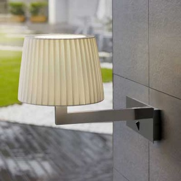 Lexa Horizontal Backplate Wall Lamp by Bover   1320505U+P-635E