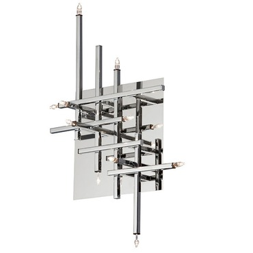 Mondrian Wall / Ceiling Light Fixture by Dainolite | CG8611FH-PC