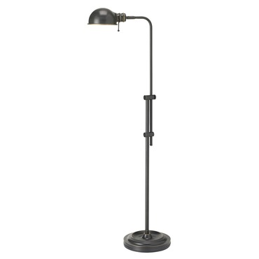 Pharmacy Adjustable Floor Lamp by Dainolite | DM1958F-OBB