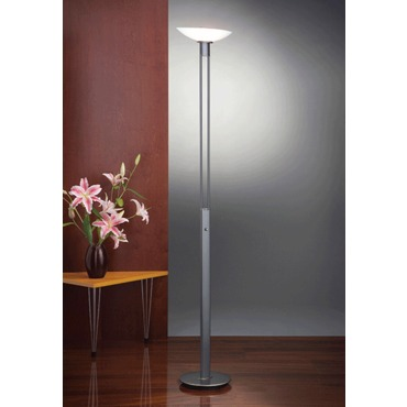 2517 Raumfluter Torchiere Floor Lamp