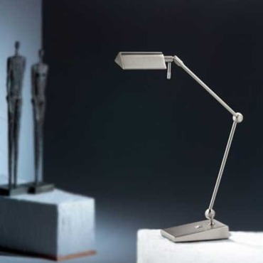 Two Tone LED Desk Lamp by Holtkoetter | 9603LED SN