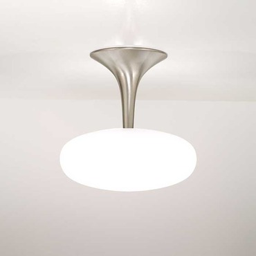 Viennese Small Semi Flush Ceiling Fixture